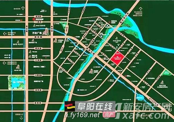 碧桂园翡翠天境区位图