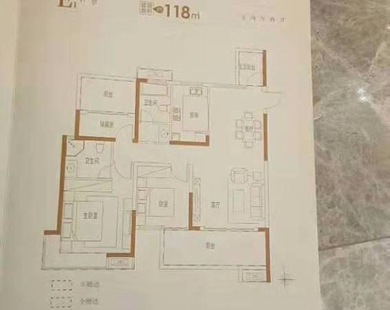 出售万霖固蓉府3室2厅2卫118平米79万住宅