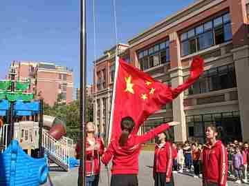 文峰幼儿园温莎公园分园升旗仪式